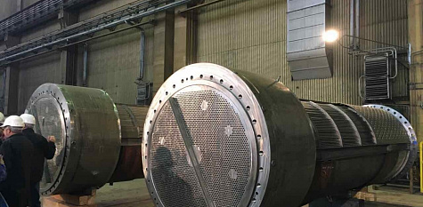 """KOMPLEKTENERGO"" COMPLETED THE SUPPLY OF TUBE SYSTEMS PN-1200 FOR BALAKOVO NPP AHEAD OF THE SCHEDULE"